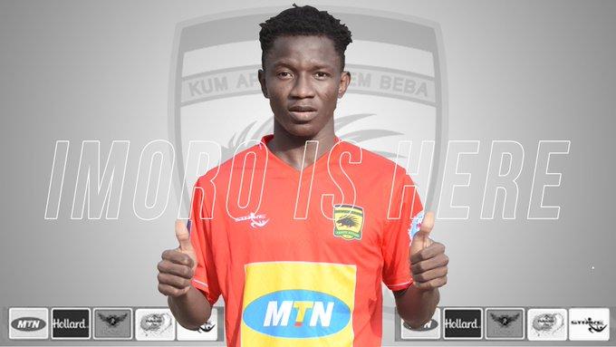 Asante Kotoko confirm signing of defender Ibrahim Imoro