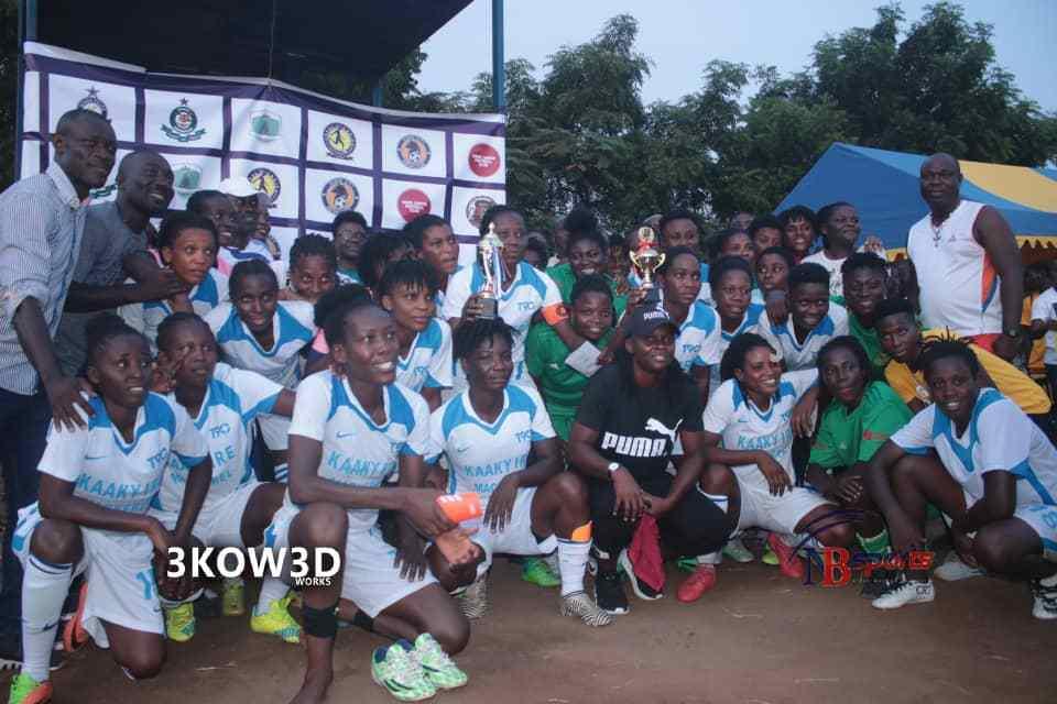 Immigration Ladies pip Sea Lions to lift maiden Ama Pele tournament trophy