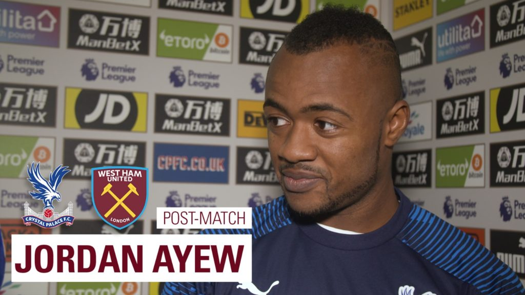 Crystal Palace forward Jordan Ayew reveals secret behind his stupendous form this season