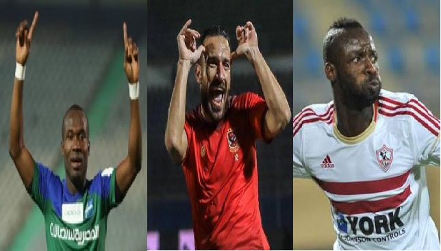 Ghanaian duo John Antwi and Ernest Papa Arko named in Best 10 foreigners of Egyptian League the last decade