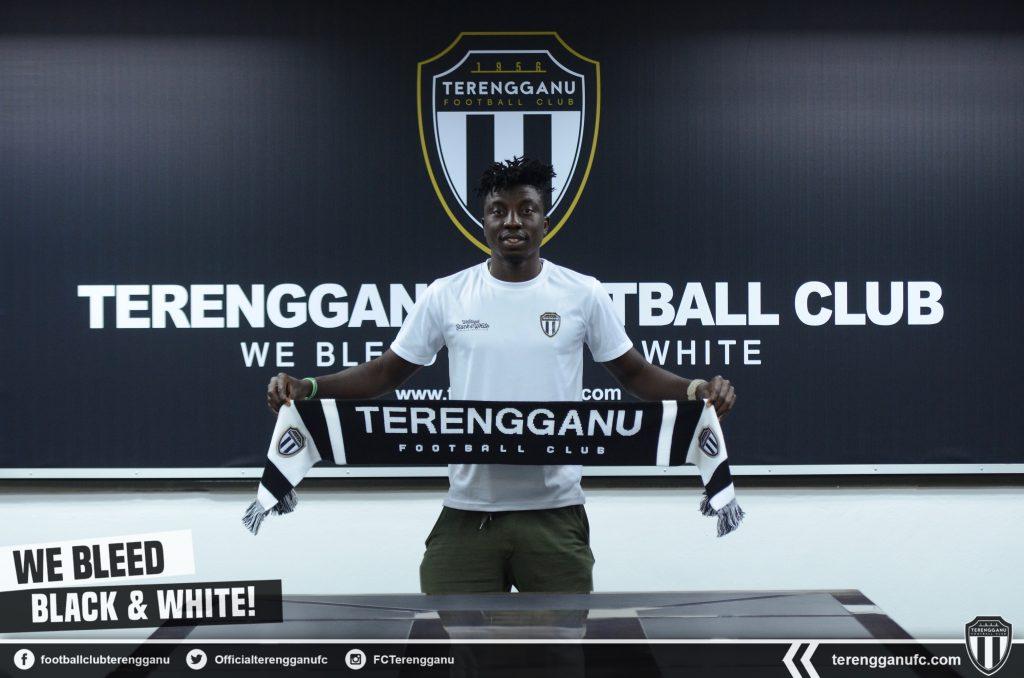 Ghanaian goal-machine Jordan Mintah joins Malaysian side Terengganu FC on one-year deal
