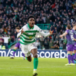 Celtic wonderkid Jeremie Frimpong delighted to score debut goal in win against Hibernian