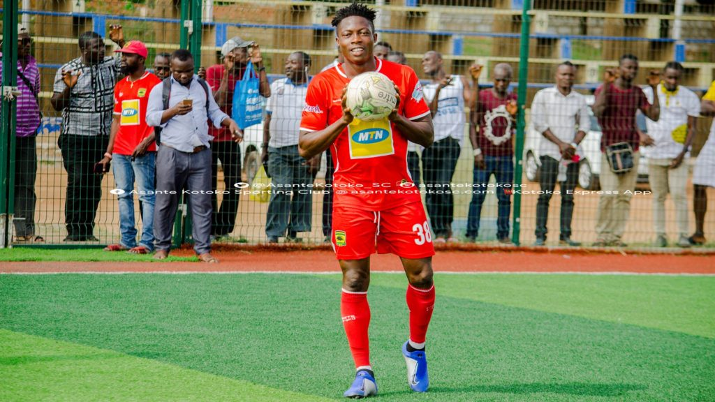 Asante Kotoko want to make midfielder Justice Blay's move permanent
