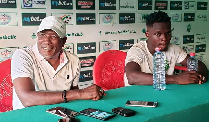 Dreams FC coach Karim Zito delighted by opening day victory against King Faisal