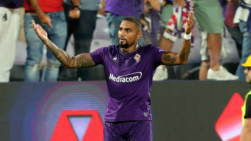 KP Boateng remains doubt for Fiorentina ahead Coppa Italia clash against Cittadella