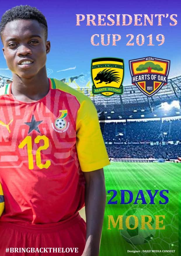 2019 President's Cup: Asante Kotoko to unleash 'Ghana Messi' Mathew Anim Cudjoe against Hearts