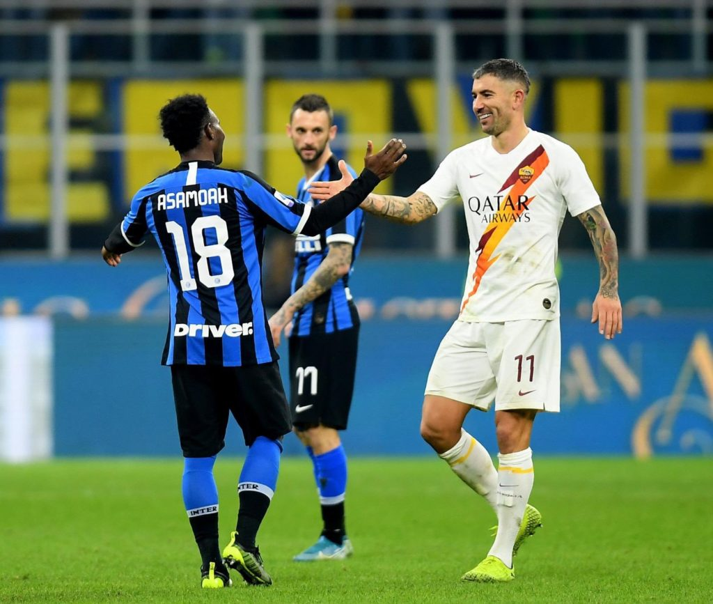 Inter ace Kwadwo Asamoah shifts attention to Barcelona clash after draw against Roma