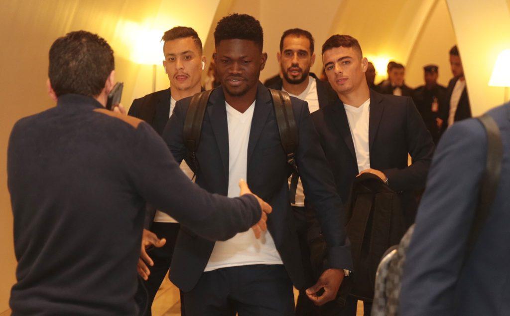 Kwame Bonsu and Esperance teammates arrive in Qatar for Club World Cup