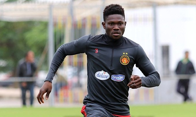 Kwame Bonsu suffers injury in Esperance draw against AS Vita