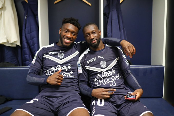 Enock Kwateng excited as Bordeaux climb to third in Ligue I after thrashing Nimes