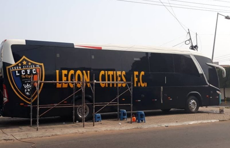Nouveau-riche Legon Cities FC set to unveil plush team bus