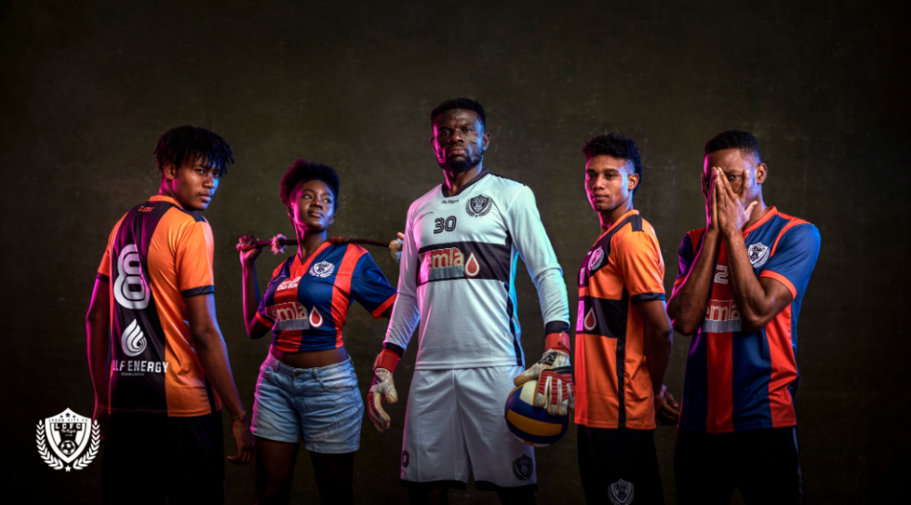 Fans go 'crazy' over Legon Cities Football Club jersey unveiling
