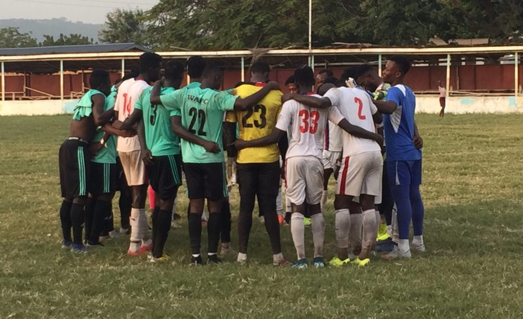 Friendly Report: Liberty Professionals draw 1-1 with Wa All Stars