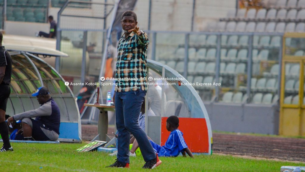 Maxwell Konadu admits Asante Kotoko struggled in win against Eleven Wonders