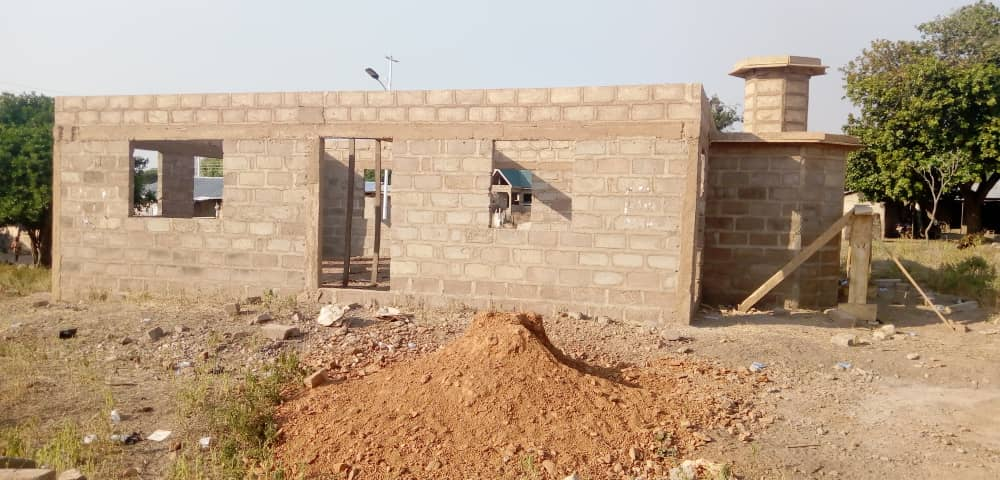 Yusif Chibsah's Foundation building a mosque for the community in Damongo