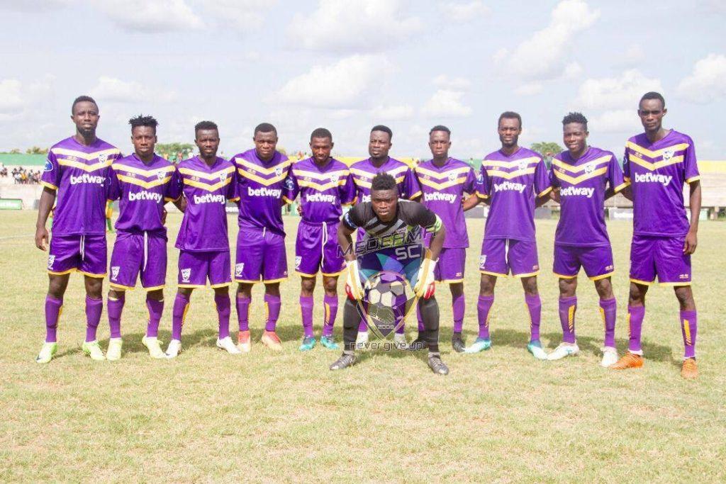 2019/20 Ghana Premier League: Week 1 Match Report: Ebusua Dwarfs 1-3 Medeama