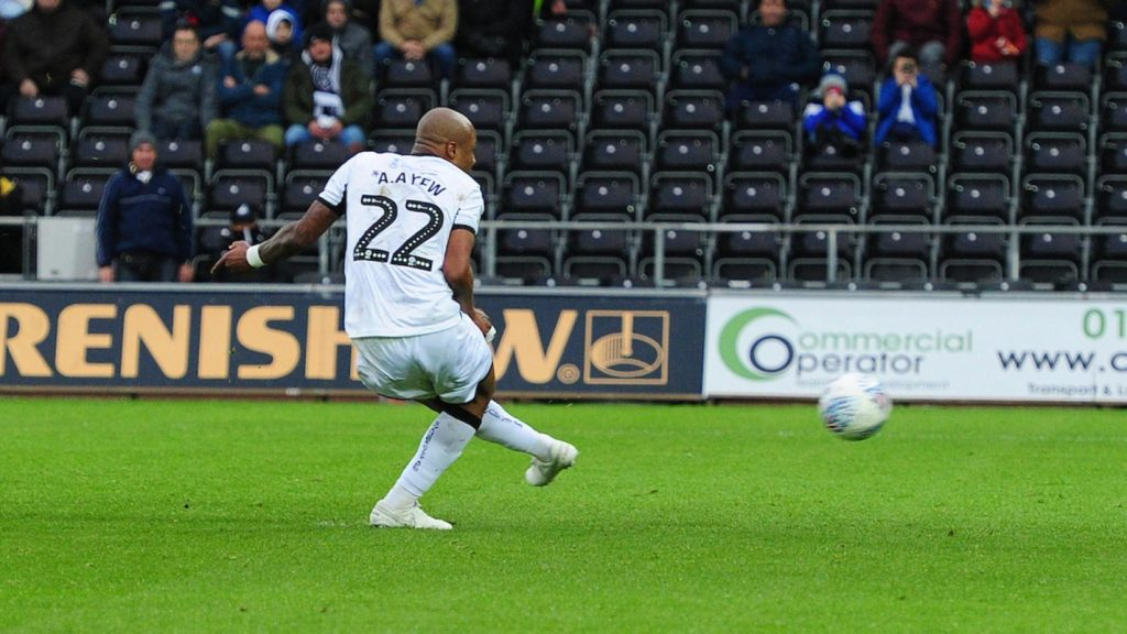 """""""I must try to get more goals for Swansea City""""- Andre Ayew"""