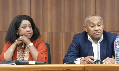 Caf President Ahmad is working with FIFA General Secretary Fatma Samoura to clean up the image of African soccer governance
