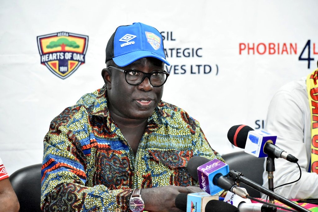 'Pray for long life for our benevolent board chairman Togbe Afede'- Hearts GM tells fans