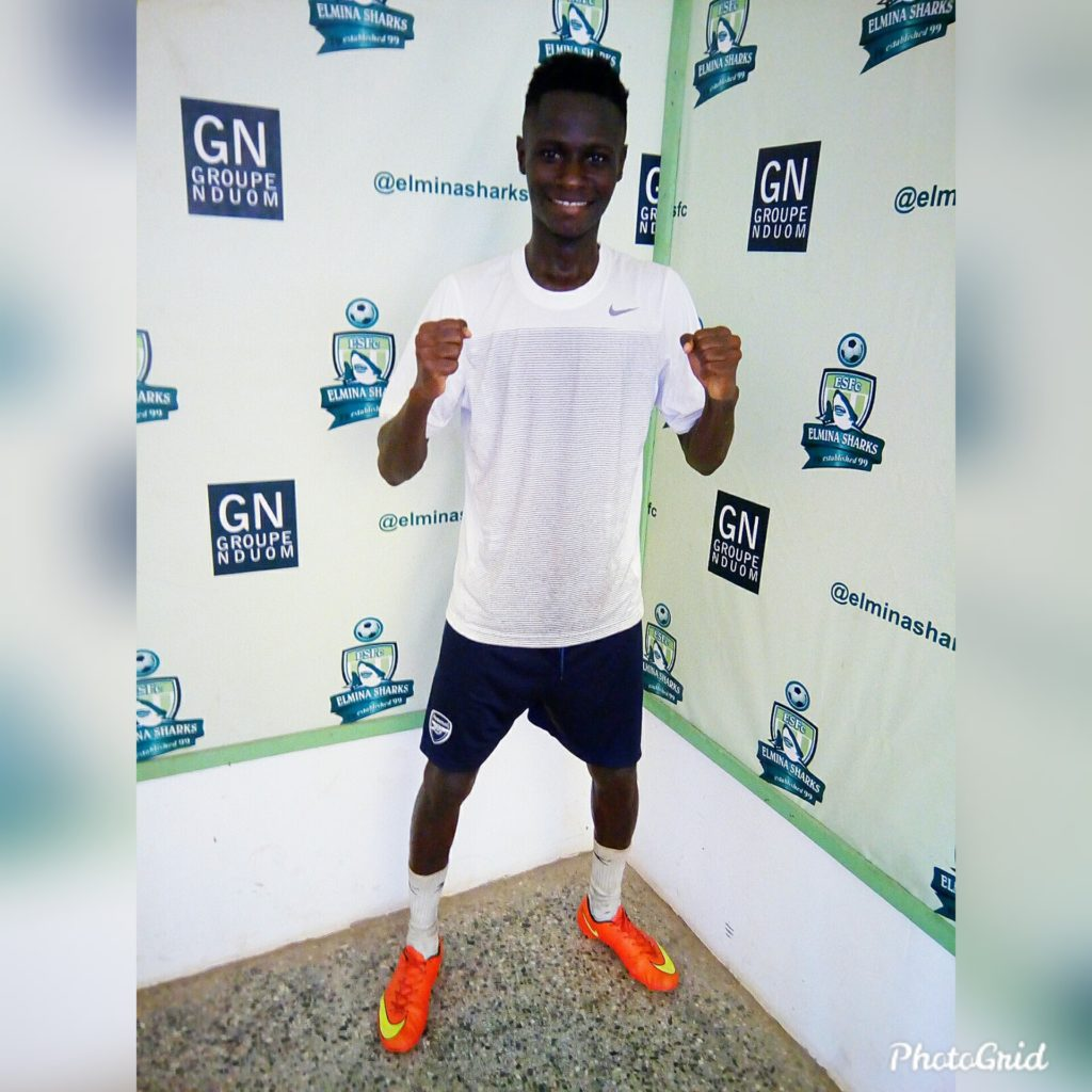 Henry Nana Afankwa joins Elmina Sharks on a two year deal
