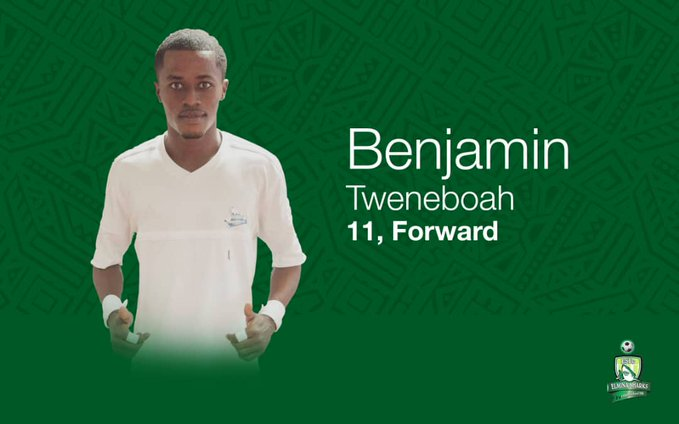 Elmina Sharks talisman Benjamin Tweneboa stays put at club by signing contract extension