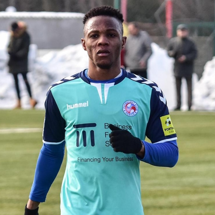 Ghanaian youngster Osei Bonsu scores on his debut for FK Senica