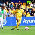 Ghanaian midfielder Richard Boateng scores in Alcorcon defeat to Real Ovideo in Spain