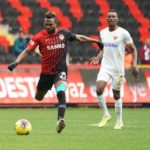 Patrick Twumasi suffers early injury in Gaziantep FK's heavy win in Turkish Super Lig