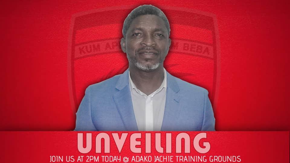 PHOTOS: Asante Kotoko unveil Maxwell Konadu as new coach