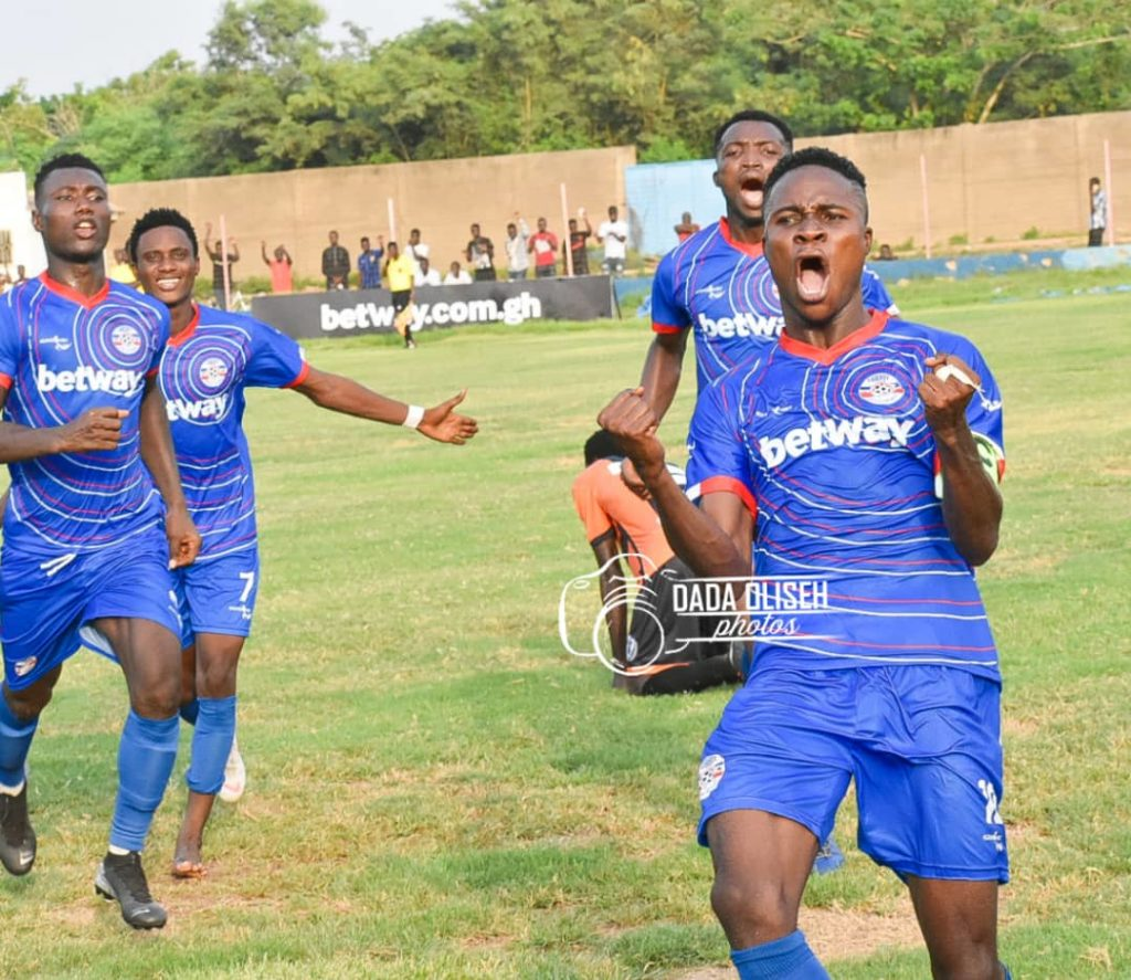 VIDEO: Liberty Professionals hero Abubakar Alhassan on cloud nine after hitting winner against WAFA SC