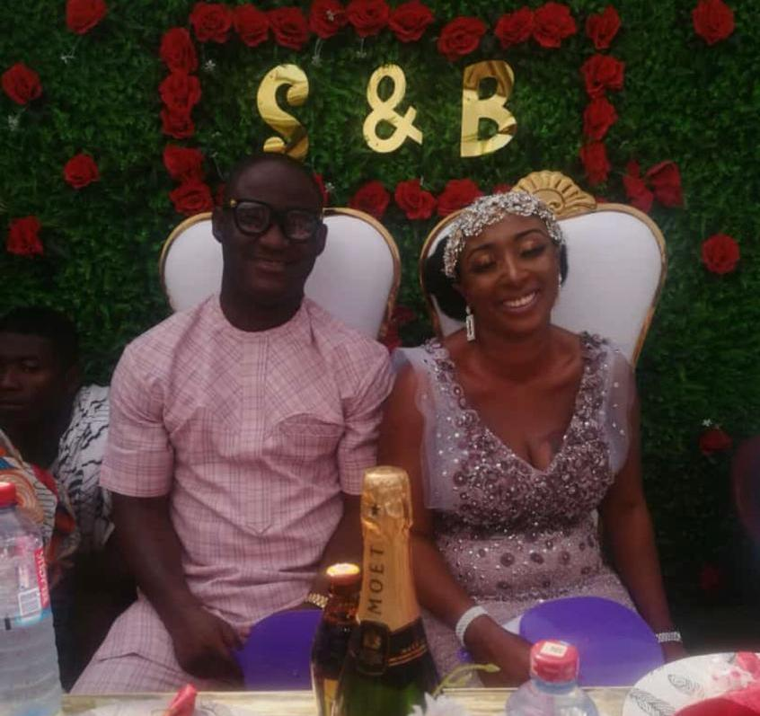 Ex-Ghana star Adu Tutu Skelley marries Akua Boatemaa Bannor in Accra