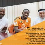 William Osso bags brace in Ajman 2-2 draw against Al Nsour