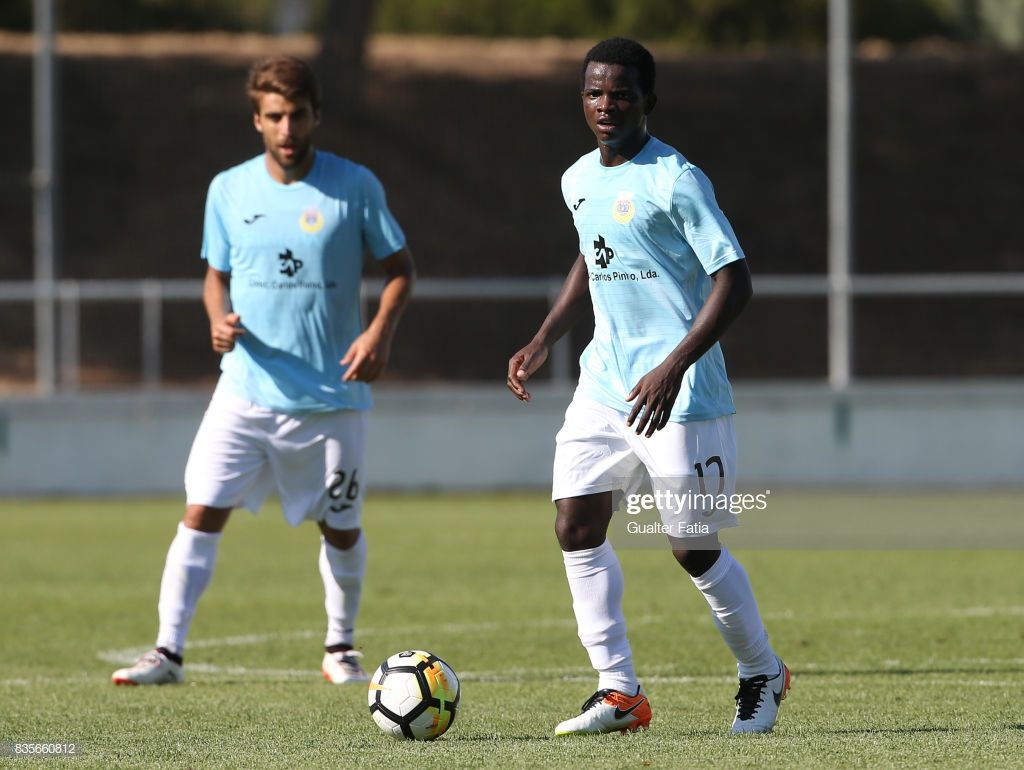Ghanaian youngster Yaw Moses makes Portuguese Liga 2 Team of the Week