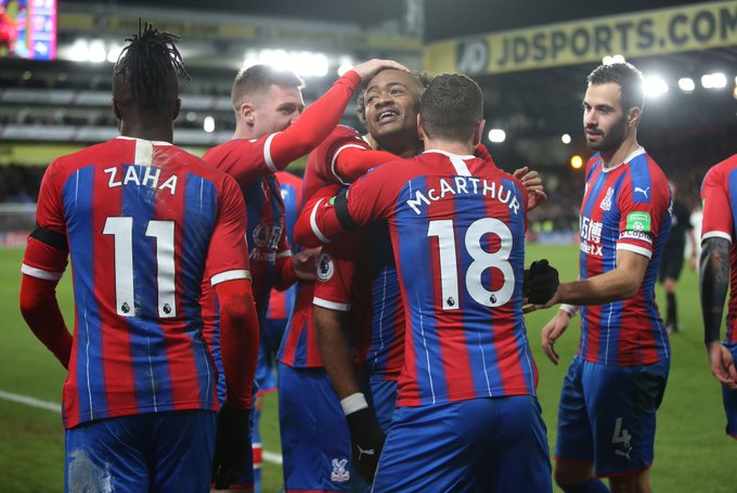 Take a bow son- Zaha to J. Ayew after delightful match winner against West Ham