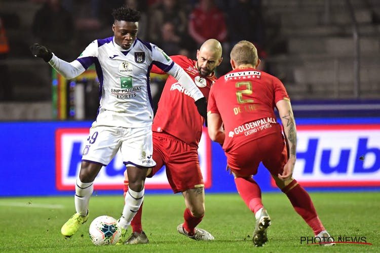 Anderlecht forward Jeremy Doku satisfied with draw against Antwerp
