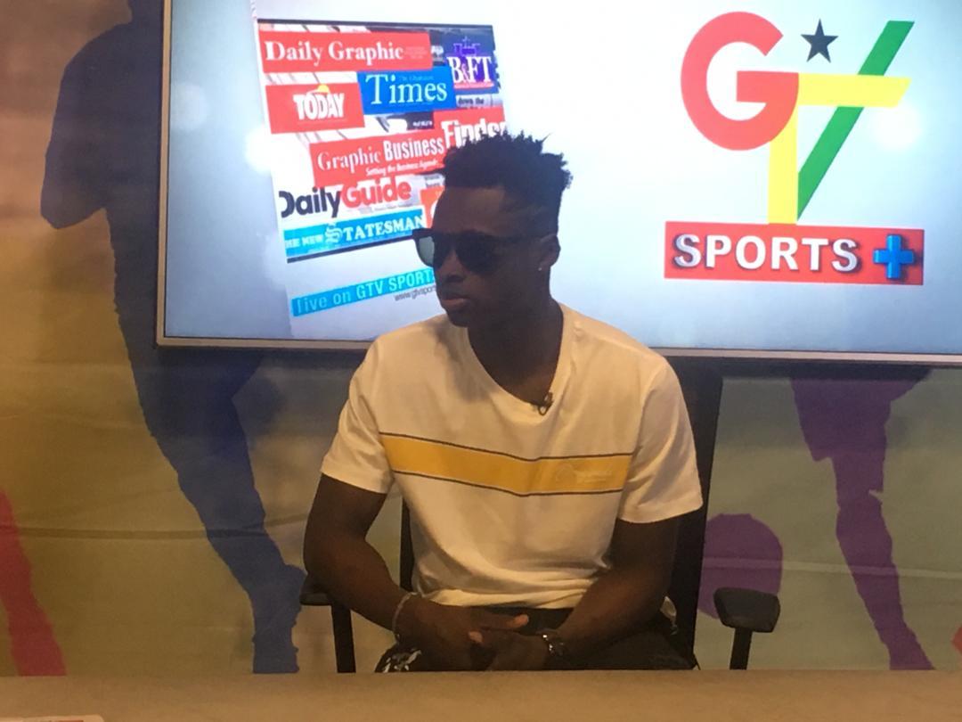 Evans Mensah eyes Black Stars call up after AFCON U-23 heroics
