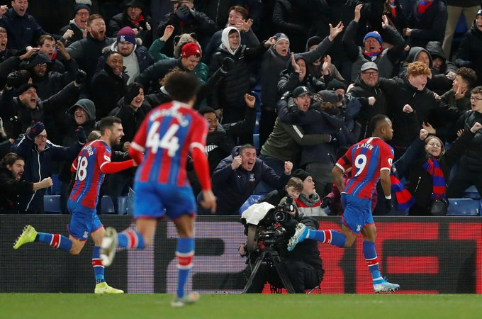 English side Crystal Palace declare Jordan Ayew as 'KING' after brilliant Boxing Day winner