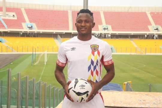 Ghana striker Joseph Esso DAZED by Hearts of Oak departure