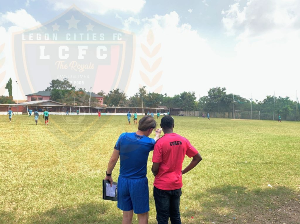 Legon Cities FC plot Asante Kotoko downfall with \'counter-attacking\' training