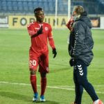 Inform Senica attacker Osei Bonsu believes his hard work is paying off