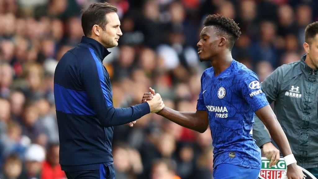 Chelsea boss Frank Lampard defends Callum Hudson-Odoi following recent criticism