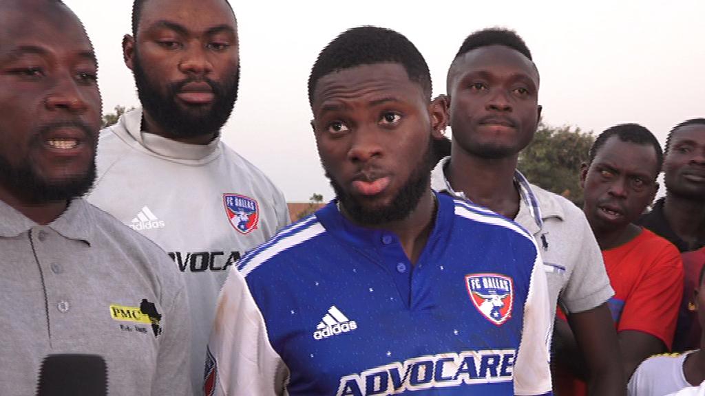 FC Dallas forward Ema Twumasi launches foundation in Wenchi