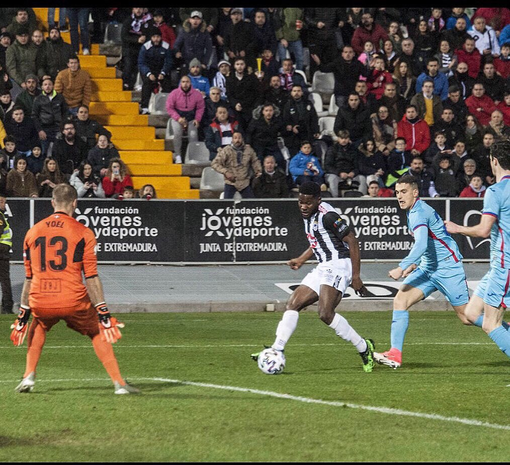 VIDEO: Kingsley Fobi scores for third-tier side Badajoz in Copa del Rey win