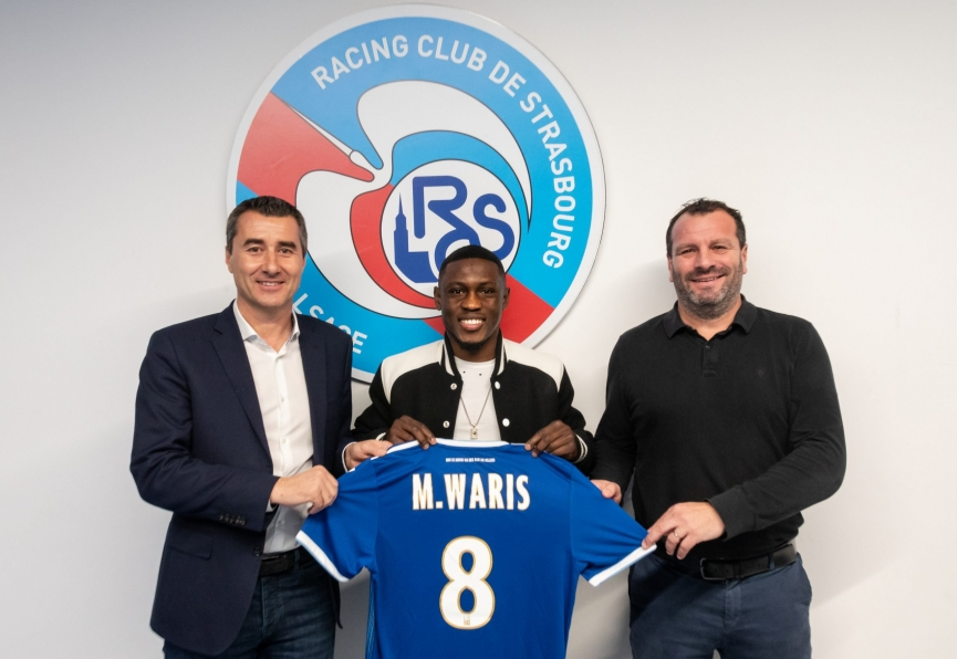 OFFICIAL: Ghana forward Majeed Waris completes Strasbourg switch