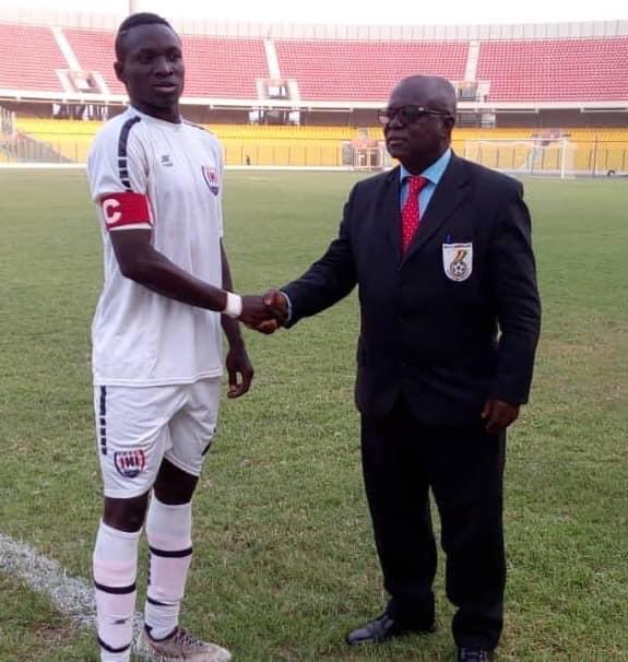 Inter Allies skipper Victorien Adebayor wins MoTM gong in victory against Bechem United