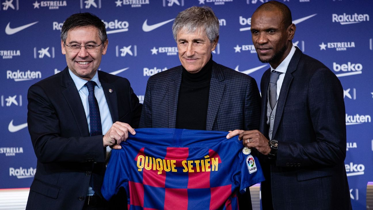 Setien on Barcelona job: beyond my 'wildest dreams' to go from cows to Camp Nou