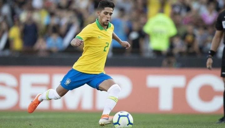 Image result for Brazilian right-back Yan Couto