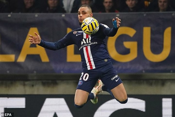 Arsenal in advanced talks to sign PSG's Kurzawa this mouth (Athletic)