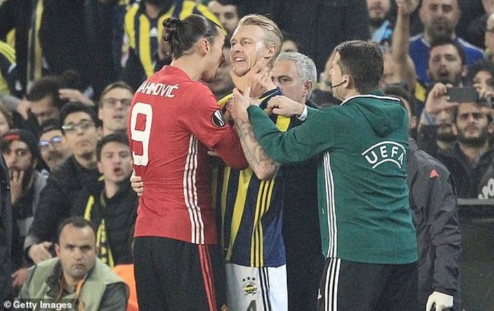 Kjaer dismisses talk of a feud with Milan team-mate Ibrahimovic