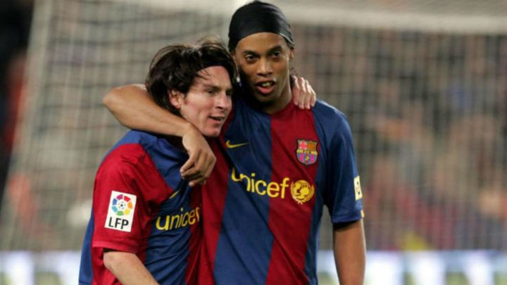 Ronaldinho: Messi has everything, he didn't need anything from me